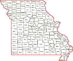 missouri map images resources for family community history