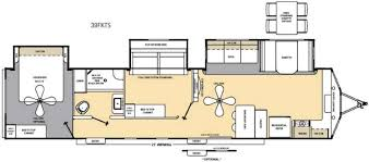 catalina rv floor plans new 2018 coachmen rv catalina destination series 39fkts destination