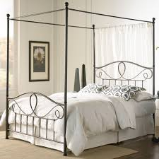 canopy bed furniture wall mounted wooden rectangle brown cabinet