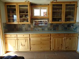 kitchen natural wood cabinets prefab cabinets unfinished pine