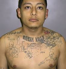 gangland tattoos such as aaron hernandez u0027s can be used as criminal