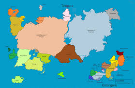 Fake Map 35 Fake Nations For A Series Of Short Stories I U0027m Writing Album
