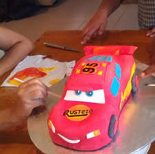 lightning mcqueen cake lightning mcqueen car cake recipe recipeyum