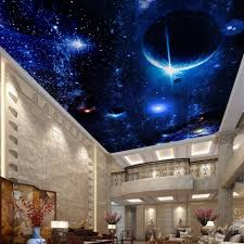 compare prices on wall mural modern online shopping buy low price modern wallpaper 3d wall murals for living room ceiling mural star planet universe space custom wallpaper