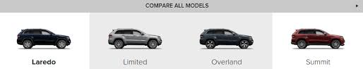 difference between jeep grand laredo and limited 2016 jeep grand normandin chrysler dodge jeep ram fiat
