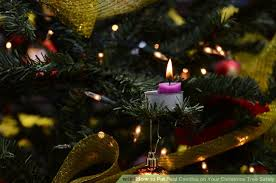 how to put real candles on your christmas tree safely 13 steps