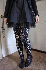 coffin kitsch of the day lucy fur leggings