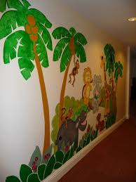 jungle story large paint by number wall mural elephants on the jungle story large paint by number wall mural