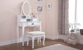 Vintage Style Vanity Table Antique Style Dressing Table Groupon Goods