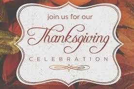 thanksgiving celebration pastor s