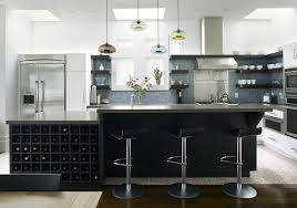 dark cabinets white island glass tile backsplash delicatus granite