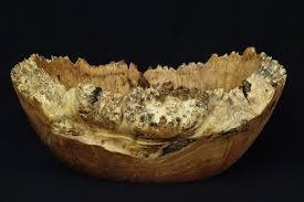 one of a kind burl wood bowl fruit bowl beautiful maple burl