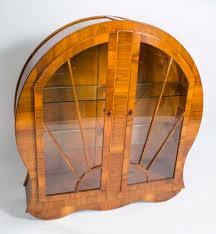 Art Deco Round Display Cabinet Art Deco Display Cabinets Everdayentropy Com