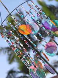 diy sun catcher and wind chime now i know what to do with all