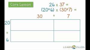 double digit multiplication lessons tes teach