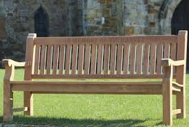 Teak Memorial Benches Caring For Your Bench In Winter Well Done Stuff