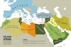 arab map the arab map the gulf