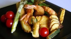 recette cuisine japonaise facile tempura de légumes recette de tempura de lègumes beignets