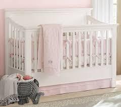 Next Crib Bedding Belgian Flax Linen Eyelet Baby Bedding Pottery Barn
