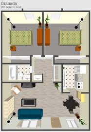 250 Square Foot Apartment Floor Plan by Independent Living Cost And Floor Plans In Tucson Az