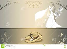 Golden Wedding Invitation Cards Wedding Invitation Golden Rings Flowers Stock Illustrations U2013 78