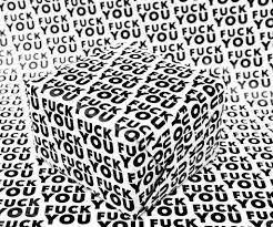 unique wrapping paper f ck you wrapping paper cool sh t i buy