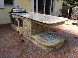 Kitchen Ideas With Island by L Shaped Outdoor Kitchen Ideas With Island Kits Pictures Granite