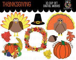 thanksgiving clip thanksgiving digital clipart turkey clip