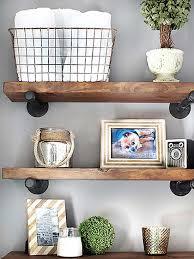 Galvanized Pipe Shelving by Best 25 Pine Shelves Ideas On Pinterest Galvanized Pipe