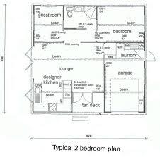 2 bedroom floor plans with garage bedroom