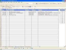 Household Budget Spreadsheet Free Monthly Expense Spreadsheet Asepag Spreadsheet