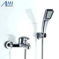 Bathroom Taps With Shower Attachment Shower Sprayer Attachment Push Button Shower For Kitchen