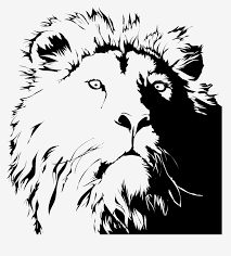 vinyl wall decal sticker lion s head ac177