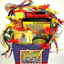 soup gift baskets on get well gift basket