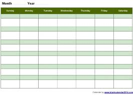 weekly calendar template word week 2017 monthly blank landscape y