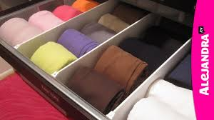 video how to organize dresser drawers u0026 fold underwear bras