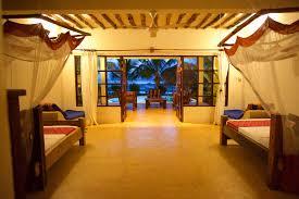 private beach villas on zanzibar milele villas private beach