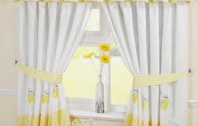Yellow White Curtains Kitchen Gray And Mustard Curtains Yellow Grey White Curtains
