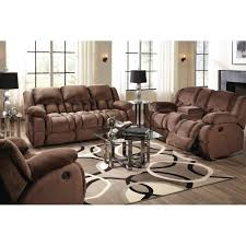 magnum living room reclining sofa u0026 loveseat mocha umr157