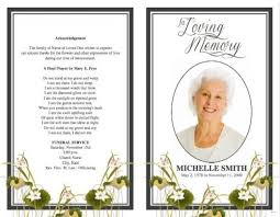 memorial service programs funeral program template competent gallery display bifold praying
