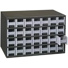 Small Component Cabinet Amazon Com Akro Mils 10164 64 Drawer Plastic Parts Storage