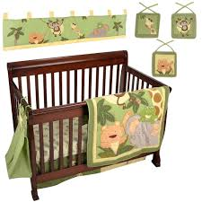 Tigger Crib Bedding Nojo Jungle Babies 9 Crib Set Includes The Comforter Solid