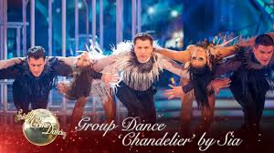 Chandelier Youtube The Strictly Pro Dancers Perform A Routine To U0027chandelier U0027 By Sia