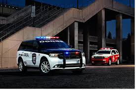 dodge unveils its amped up police durango the special service