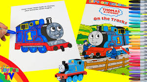 thomas and friends coloring book thomas the tank engine colour