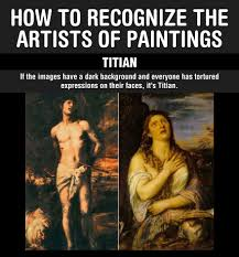 the best way to recognize the artists of paintings the meta