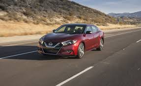 nissan cars 2017 2017 nissan maxima in depth model review car and driver