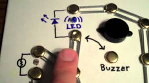 Simple Circuit Diagrams Beginners Build A Simple Circuit From A Pizza Box No Soldering Youtube