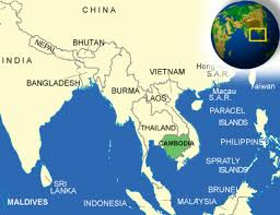Dia Map Cambodia Facts Culture Recipes Language Government Eating