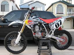 crf150r definately want this in my garage as well motocross